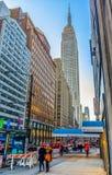 E 34th Street royalty free stock image