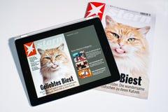 E-tijdschrift Stock Afbeeldingen