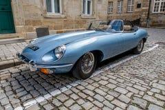 E-tipo 4 de Jaguar 2 Imagem de Stock Royalty Free