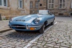 E-tipo 4 de Jaguar 2 Fotografia de Stock Royalty Free