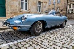 E-tipo 4 de Jaguar 2 Foto de Stock Royalty Free