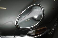 E-Tipo faro della parte anteriore del giaguaro Immagine Stock