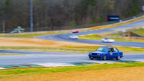 E30 Track Car. At Road Atlanta Royalty Free Stock Photos