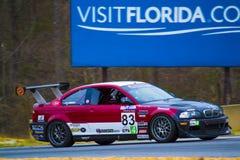 E46 Track Car Stock Images