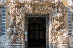 Entrance to museum, Valencia, Spain Stock Photography