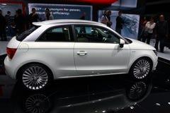 E-tron di Audi A1 Immagine Stock Libera da Diritti