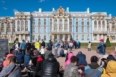 E TSARSKOYE SELO, ST PETERSBURG, RUSSIE photo libre de droits