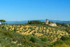 E tuscany L'Italia fotografia stock