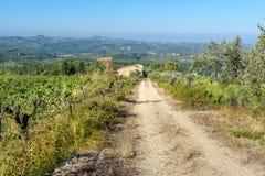 E tuscany l'Italie image libre de droits