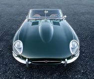 E Type Jag sportscar Royalty Free Stock Photos