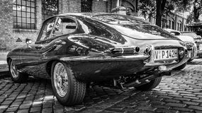 E-Type 4 van sportwagenjaguar 2 Royalty-vrije Stock Foto's