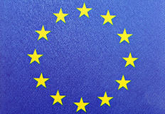 E.U. flag Royalty Free Stock Image