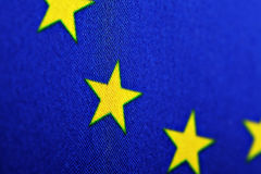 E.U. flag Stock Photography