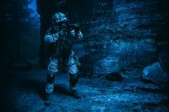 E.U. Marine Soldier foto de stock