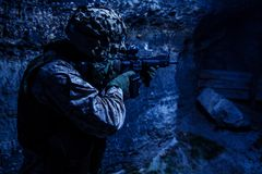 E.U. Marine Soldier fotos de stock