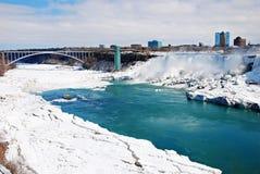 E.U. Niagara Falls Foto de Stock Royalty Free