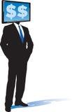 E-uomo d'affari Immagine Stock