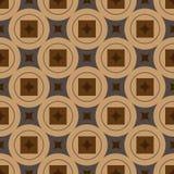 E Vector illustratie Naadloos patroon stock foto