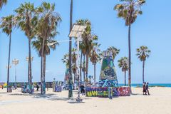 E Venice Beach ? um de foto de stock royalty free