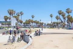 E Venice Beach ? um de imagem de stock