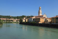 E Verona, Stockbild
