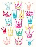 E Vetor do desenho da mão Imagens de Stock Royalty Free