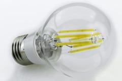 E27 6W warm white LED-bulb with six 1W luminous sticks Stock Photo