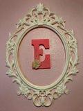 E Wall Art Royalty Free Stock Photography