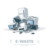 E-waste Pile Stock Photography