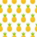 E Wektorowy ananasowy t?o r ilustracja wektor