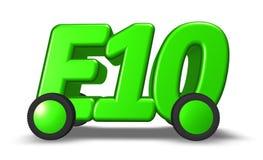 E10 on wheels Royalty Free Stock Photo