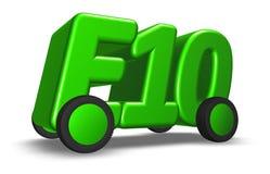 E10 on wheels Royalty Free Stock Image
