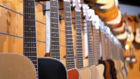 E Winkel muzikale instrumenten stock footage