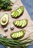 E Wiosny jedzenie Niska carb dieta organicznie produkty Obrazy Stock