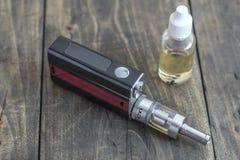 E-Zigarette oder vaping Gerät Lizenzfreies Stockbild