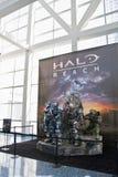 E3 2010, Halo-Reichweite stockfotos