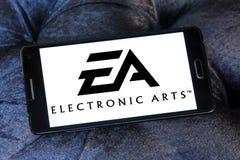 EA, ηλεκτρονικό λογότυπο τεχνών Στοκ φωτογραφίες με δικαίωμα ελεύθερης χρήσης