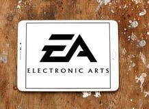 EA, ηλεκτρονικό λογότυπο τεχνών Στοκ εικόνες με δικαίωμα ελεύθερης χρήσης