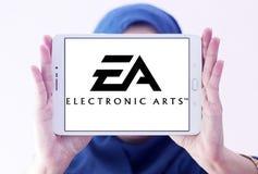 EA, ηλεκτρονικό λογότυπο τεχνών Στοκ Εικόνα