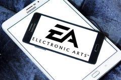 EA, электронный логотип искусств Стоковое Изображение