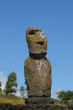 ea akivi ahu ενιαίο άγαλμα Στοκ φωτογραφίες με δικαίωμα ελεύθερης χρήσης