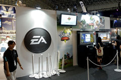 EA booth of TGS Royalty Free Stock Image