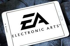 EA, elektroniczny sztuka logo Zdjęcia Stock
