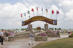 EAA Grounds Main Gate Stock Photos