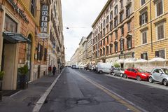 Each day life in Rome city Stock Photography