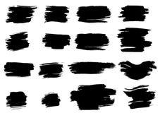each elementu elementów grunge atramentu warstwy przedmiot jeden oddzielający Fotografia Stock
