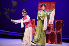 "Each have their own ideas-Kunqu Opera ""the West Chamber"" Stock Image"