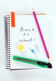 Zurück zu Schule-Konzept Stockfotos