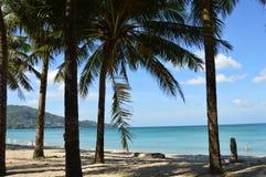 Вeach on the tropical island. royalty free stock photo