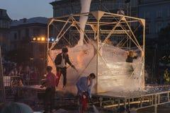Street Theater festival in Krakow 2018 Royalty Free Stock Photo
